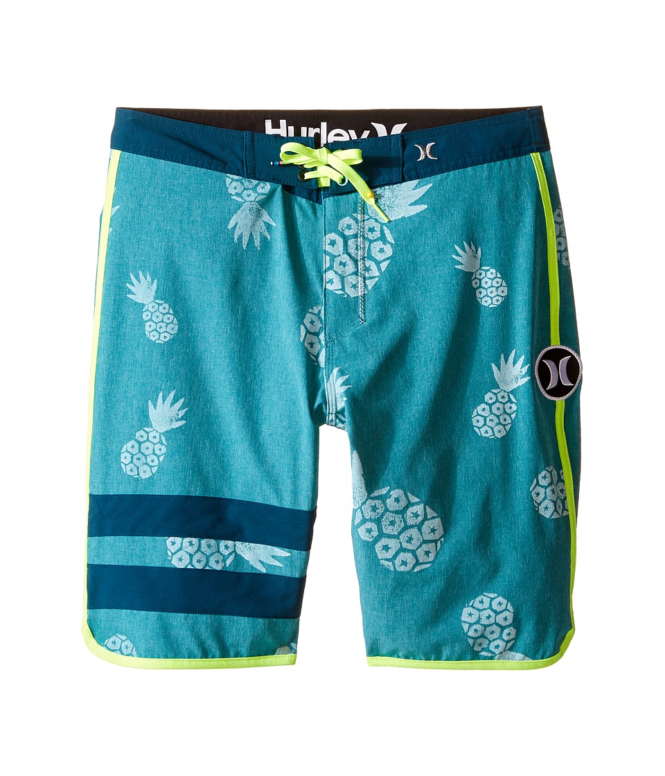 Hurley Kids - Phantom 60 Heather Shorts (Big Kids) (Rio Teal) Boy's Shorts