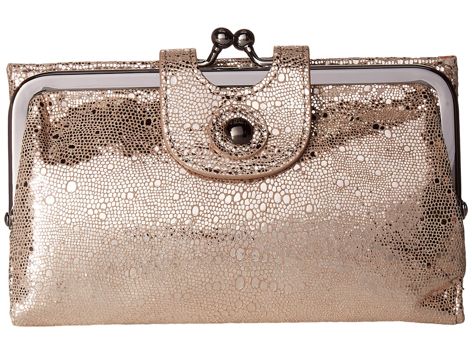 Hobo - Alice (Platinum Exotic) Wallet Handbags