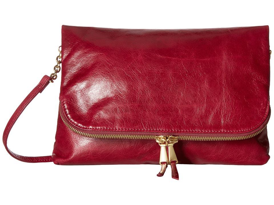 Hobo - Adrian (Red Plum) Handbags