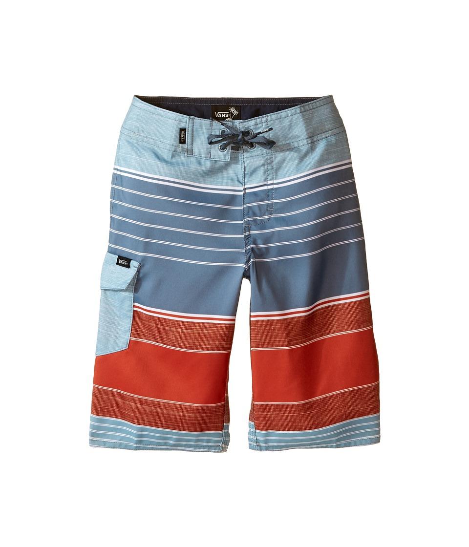 Vans Kids - Goleta Boardshorts (Little Kids/Big Kids) (Blue Mirage) Boy's Swimwear