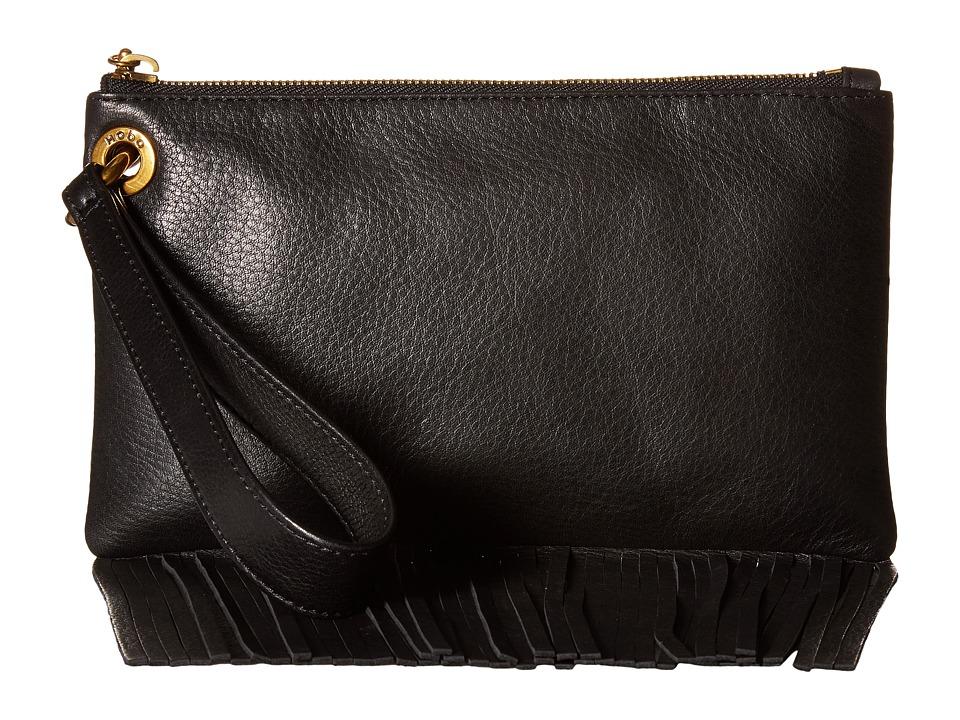 Hobo - Flutter (Black) Handbags