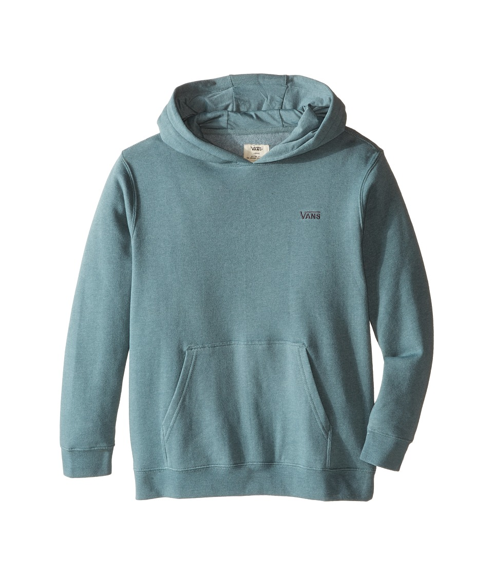 Vans Kids - Core Basic Pullover Fleece IV (Big Kids) (North Atlantic Heather) Boy's Fleece