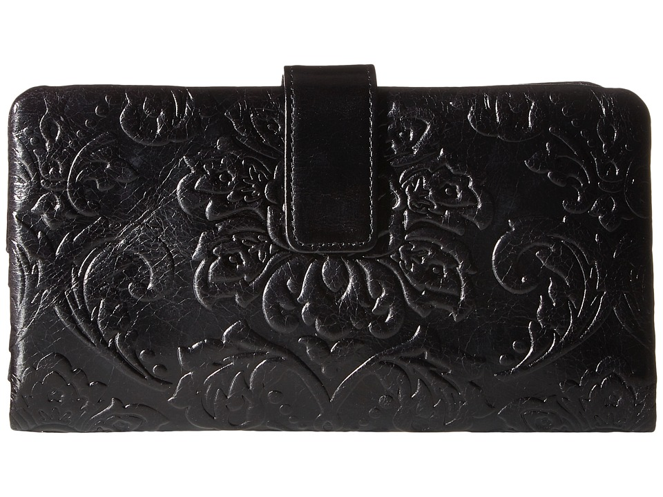 Hobo - Issy (Diamond Embossed Black) Handbags