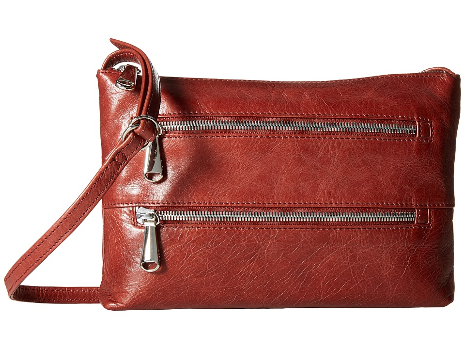 Hobo - Mara (Mahogany) Cross Body Handbags