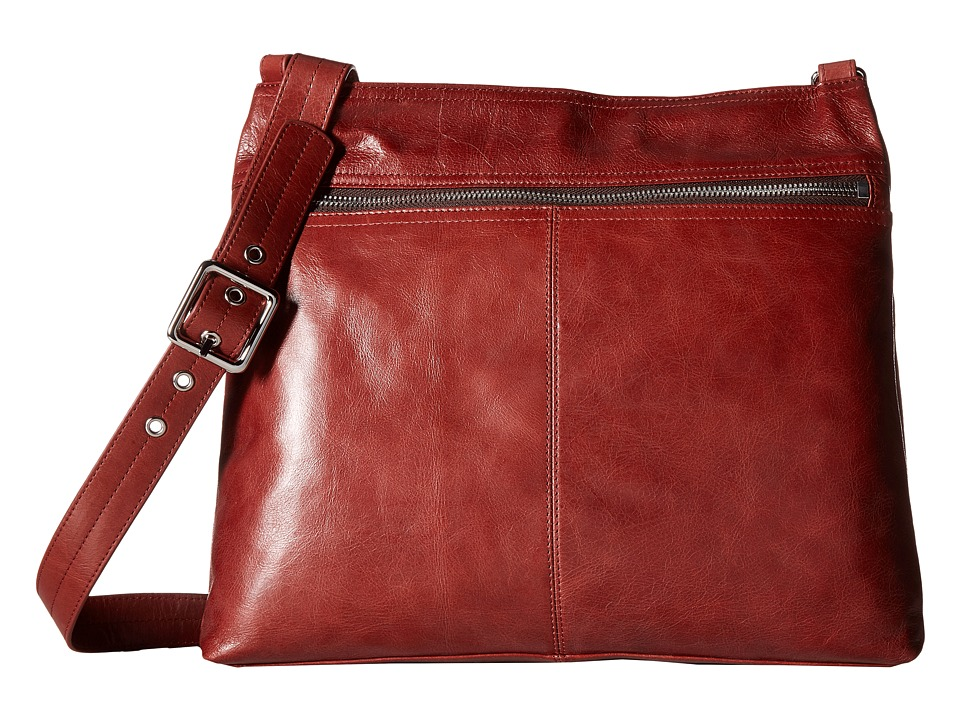 Hobo - Lorna (Mahogany) Cross Body Handbags