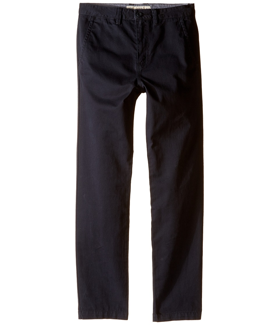 Vans Kids - Excerpt Chino Pants (Little Kids/Big Kids) (Black) Boy's Casual Pants
