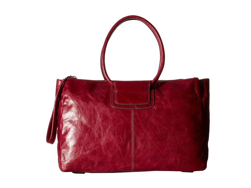 Hobo - Salina (Red Plum) Handbags