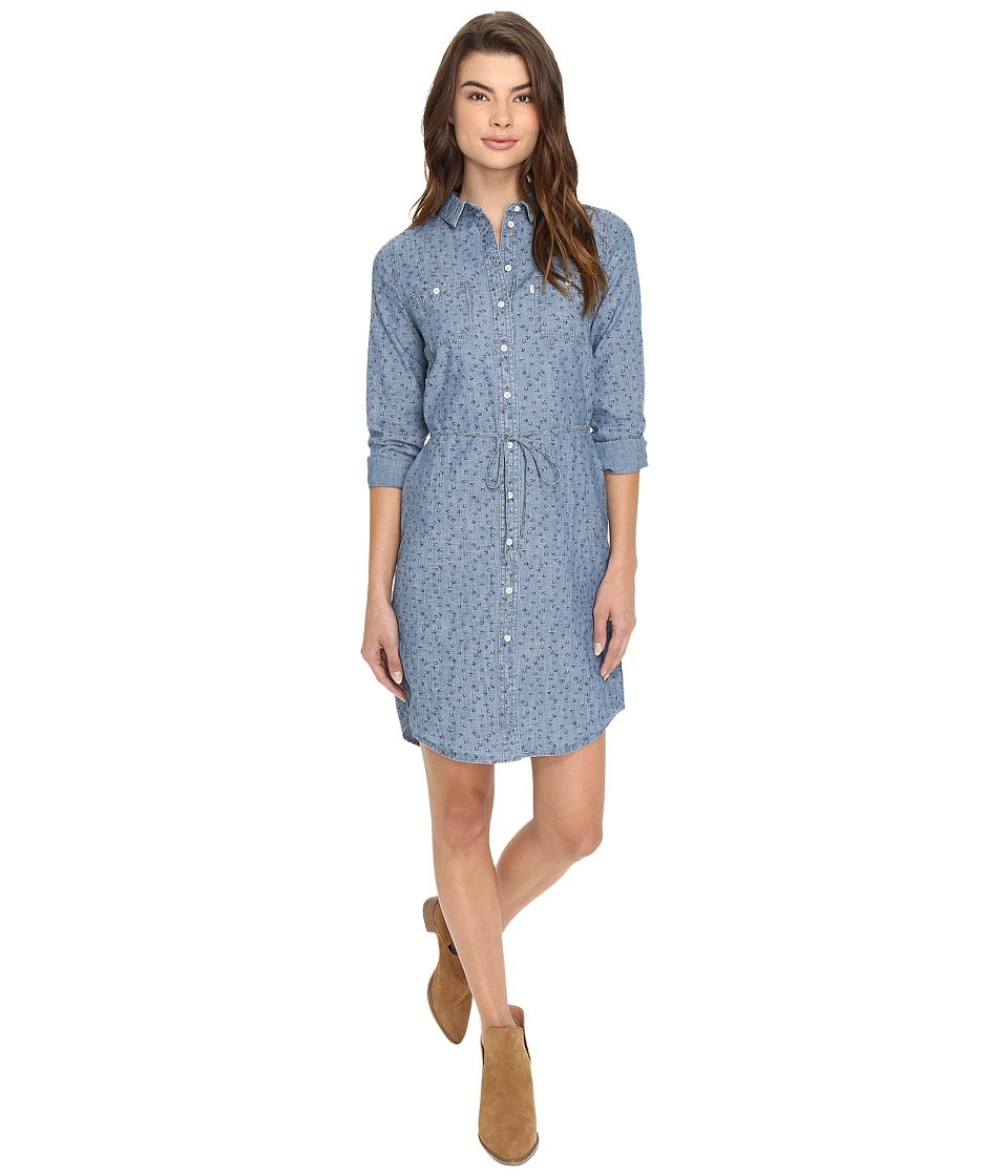 Levi's(r) Womens - Workwear Dress (Artemisia Chambray Dark) Women's Dress