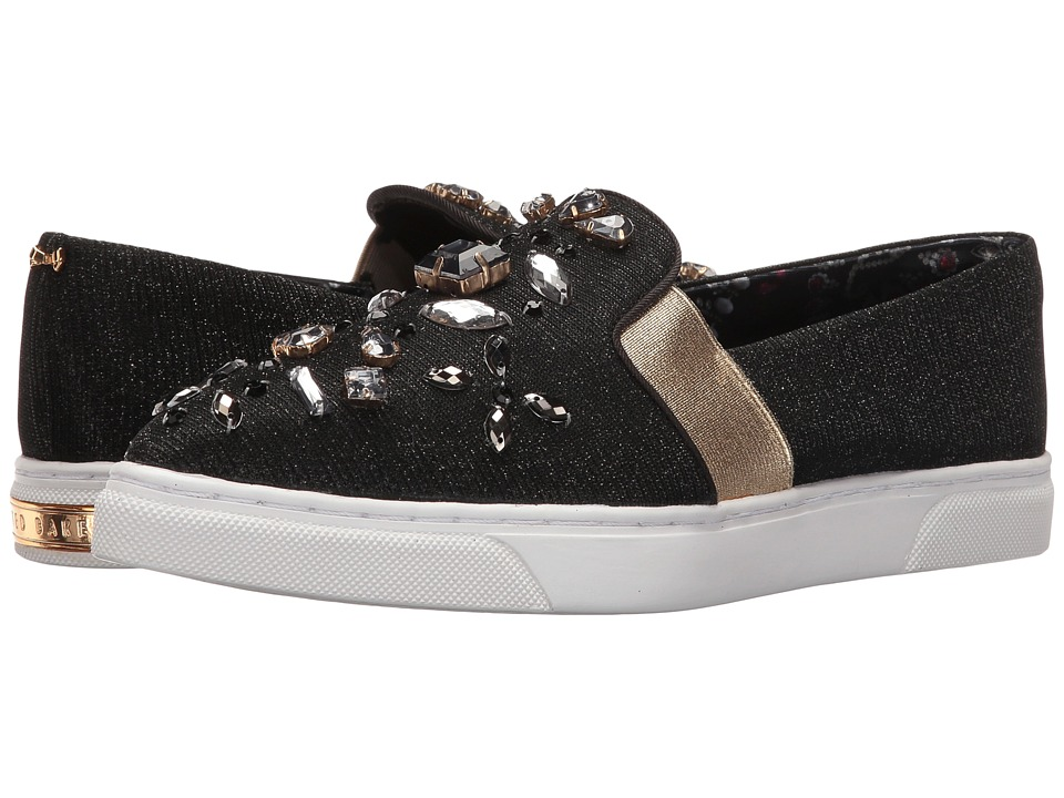Ted Baker - Thfia (Black) Women's Slip on Shoes