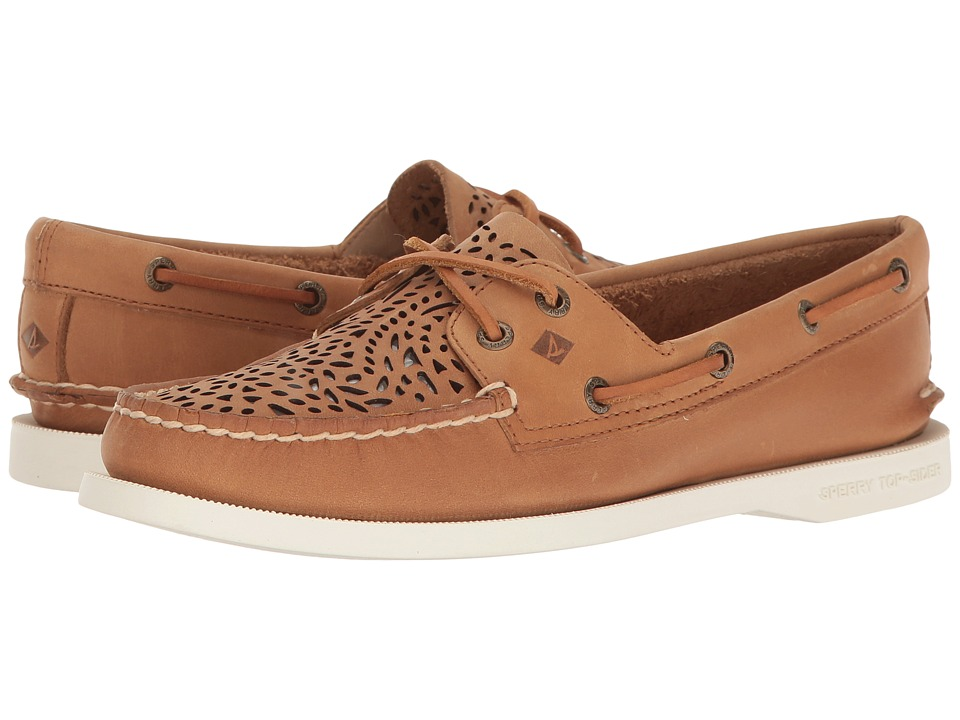 Sperry A/O Villa Perf (Tan) Women