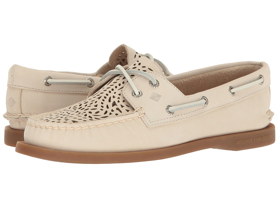 Sperry - A/O Villa Perf (Ivory) Women's Lace up casual Shoes