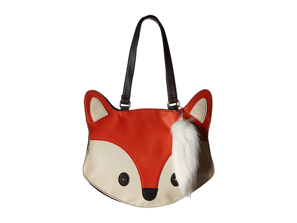 Gabriella Rocha - Fox Tote (Orange/Ivory) Tote Handbags