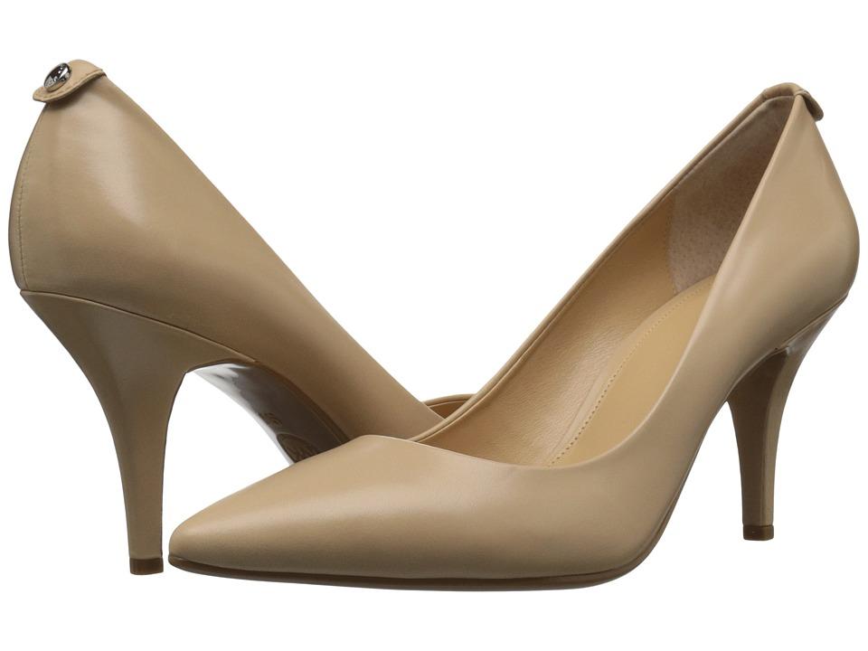 MICHAEL Michael Kors - MK Flex Mid Pump (Nude) High Heels