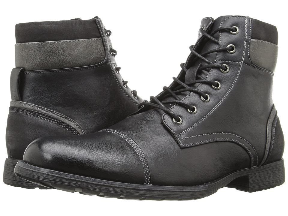 Steve Madden - Tegan (Black) Men's Shoes