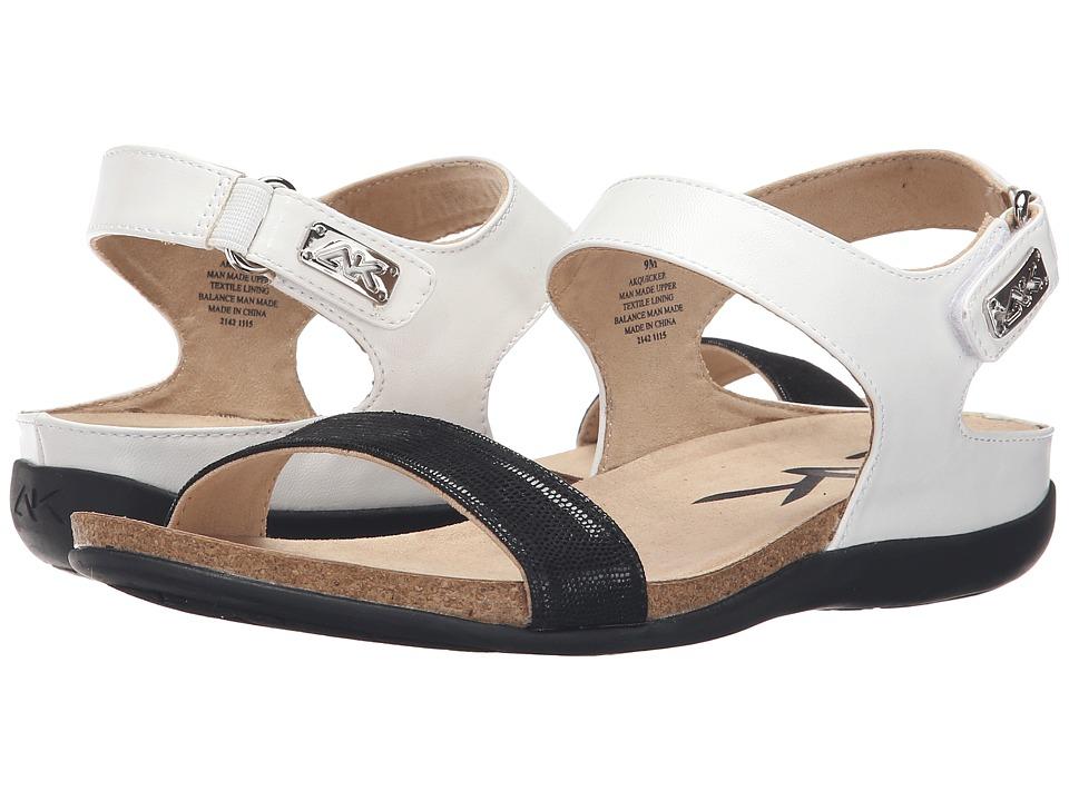 Anne Klein - Quicker (Black/White) Women's Sandals