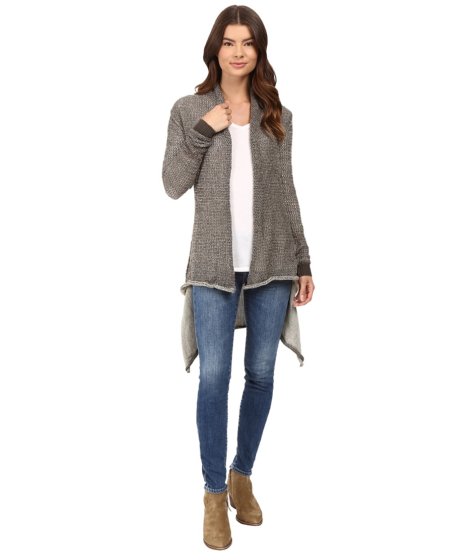 Culture Phit - Stella Cardigan (Charcoal) Women's Sweater