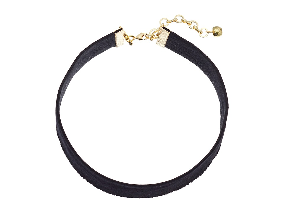 Vanessa Mooney - 1 Velvet Choker Necklace (Black) Necklace