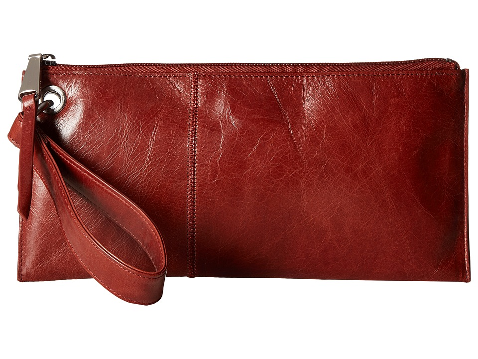 Hobo - Vida (Mahogany) Clutch Handbags