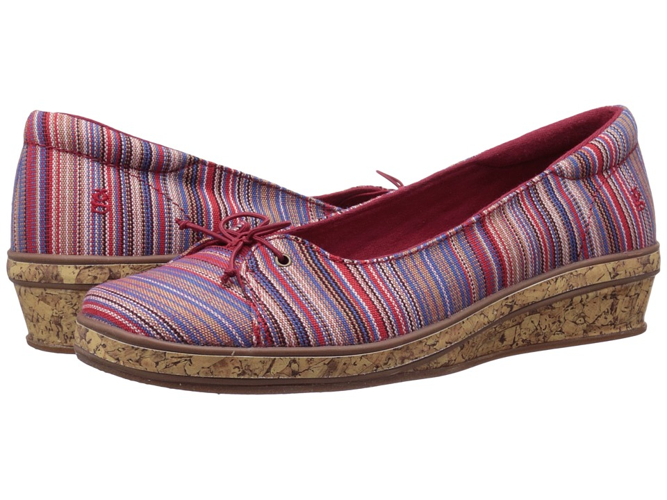 Keds - Grasshopper by Keds - Brooke (Red/Multi) Women's Shoes