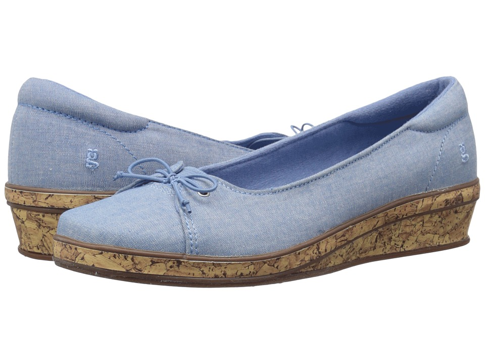 Keds Grasshopper by Keds Brooke (Light Blue) Women