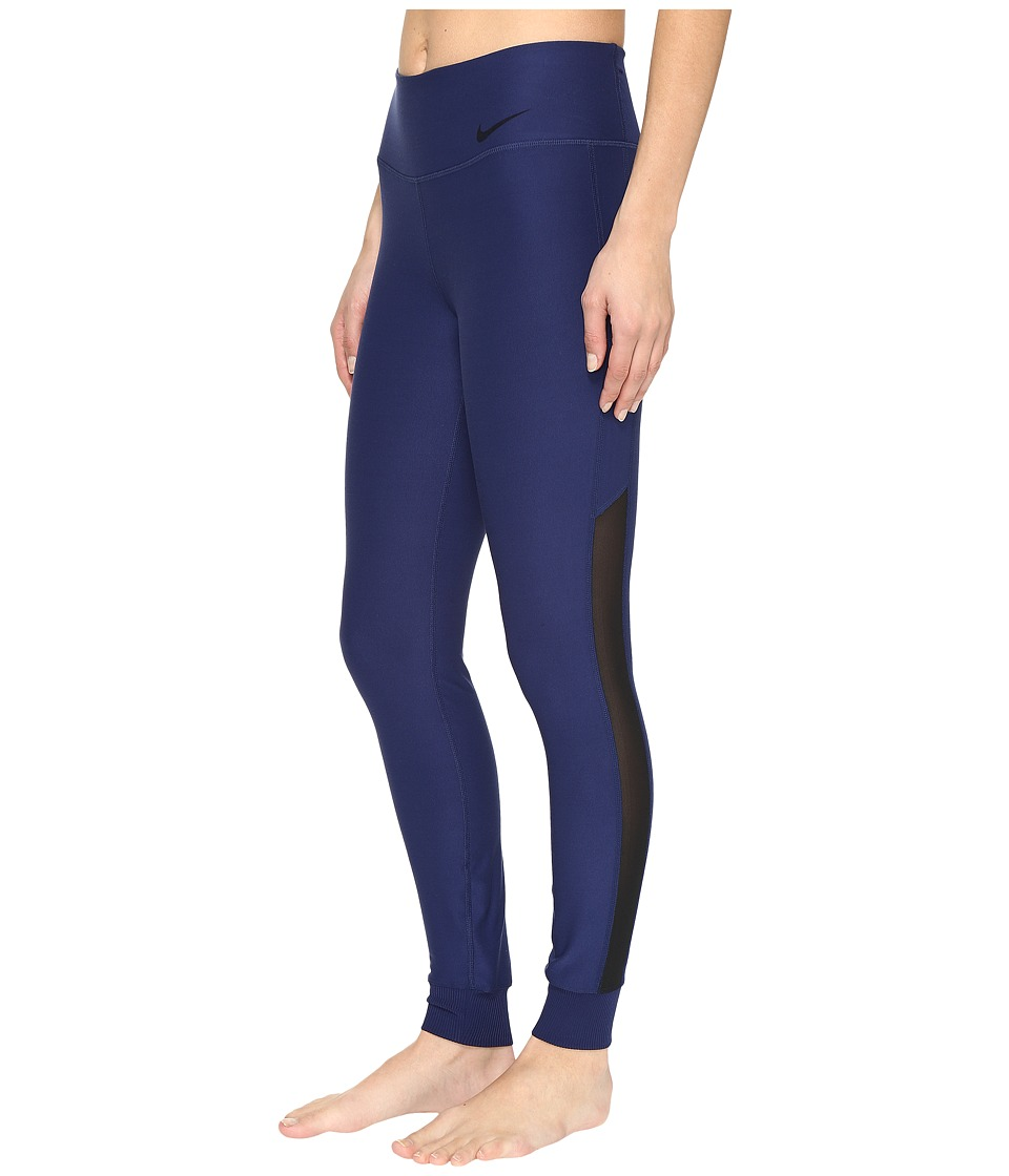 Nike - Power Legend Veneer Training Tight (Binary Blue/Black) Women's Casual Pants