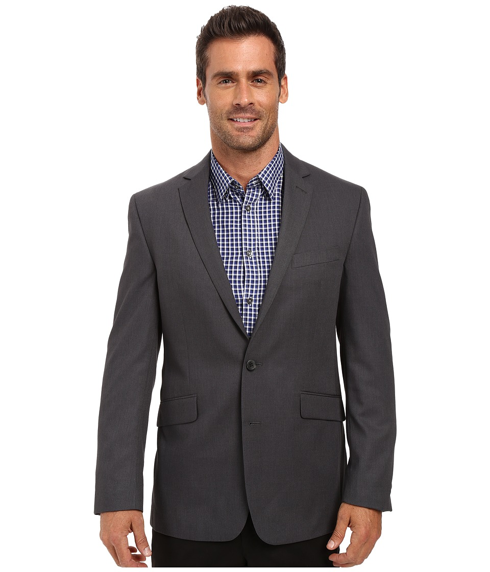 Kenneth Cole Reaction - Slim Fit Separate Coat (Grey) Men's Coat