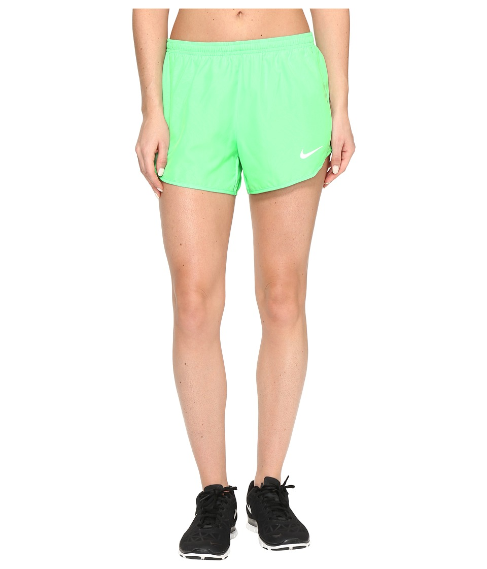 Nike - Dry Tempo 3 Running Short (Electro Green/Reflective Silver) Women's Shorts