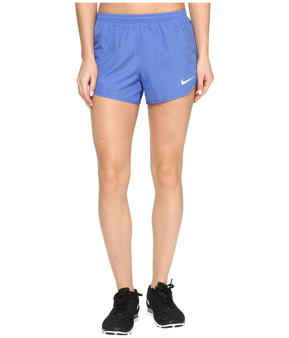 Nike - Dry Tempo 3 Running Short (Comet Blue/Reflective Silver) Women's Shorts