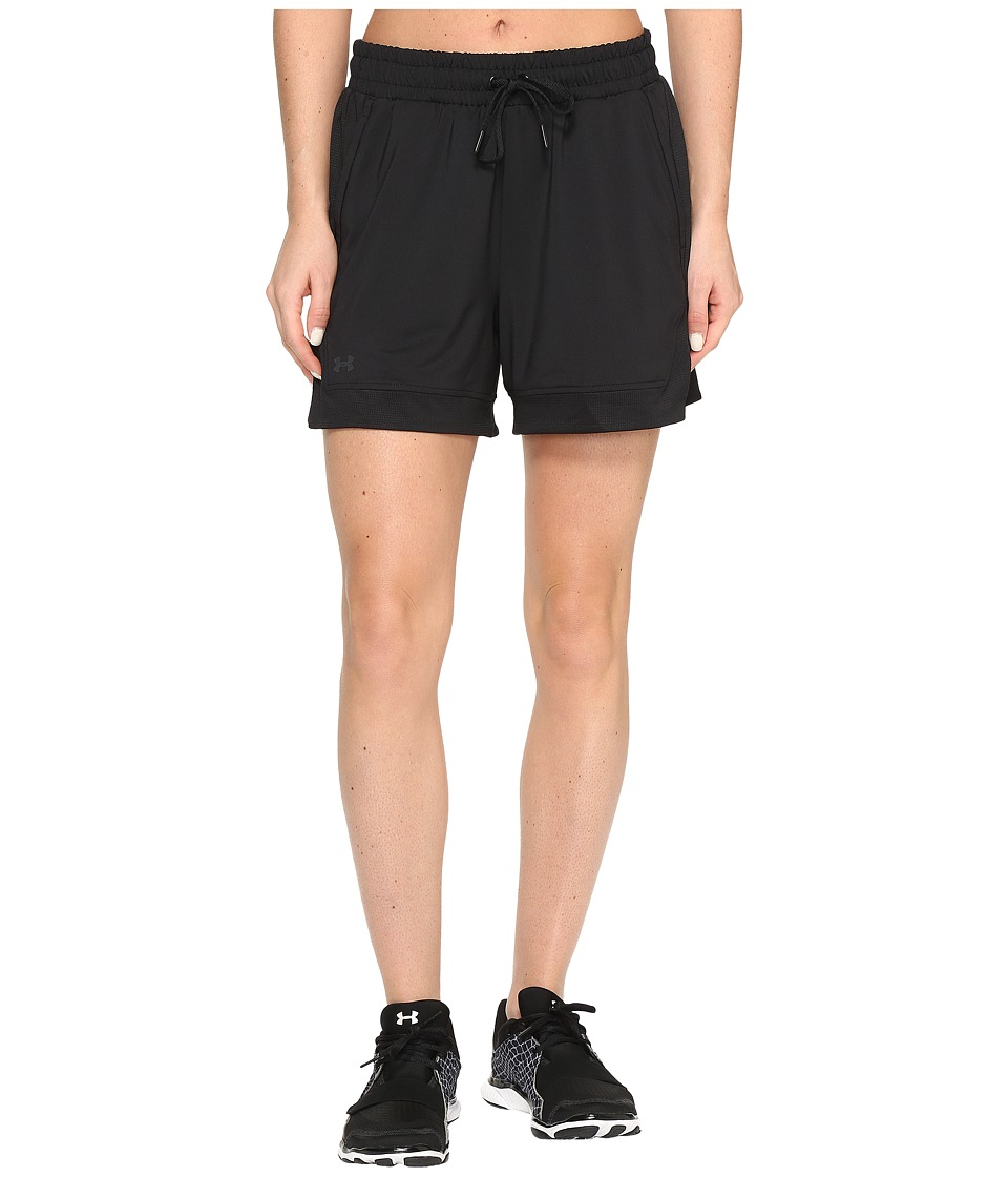 Under Armour - Armour Sport Shorts (Black/Black) Women's Shorts