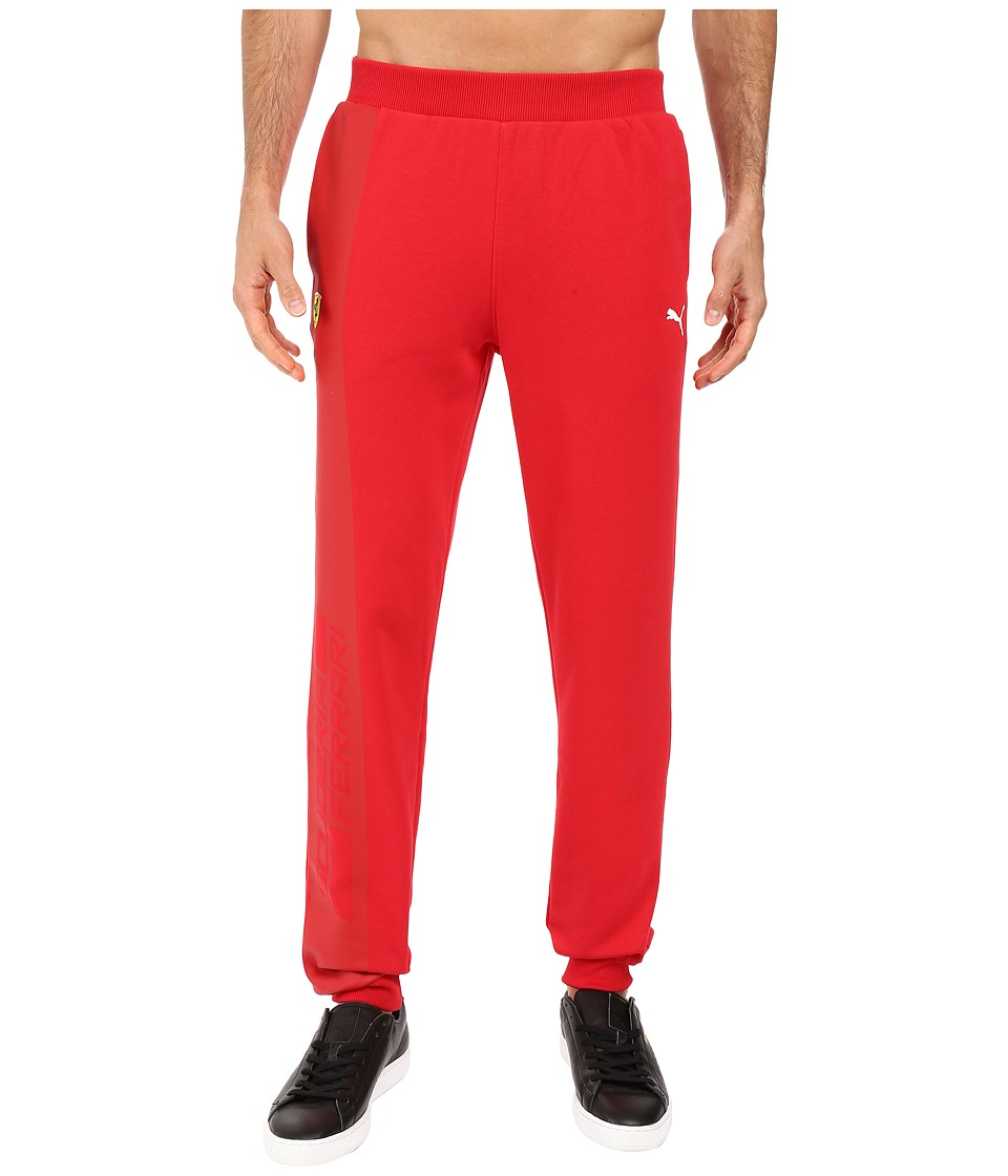 PUMA - SF Sweatpants (Rosso Corsa) Men's Casual Pants
