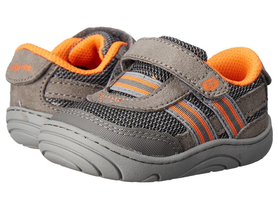 Stride Rite - Caden (Little Kid/Big Kid) (Grey Textile) Boy's Shoes