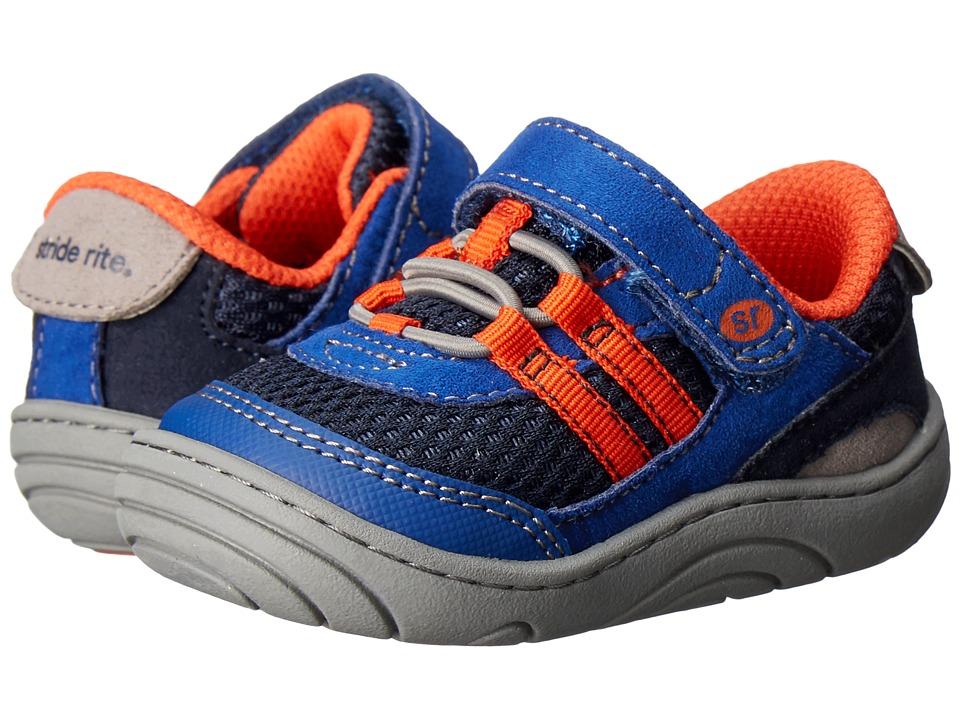 Stride Rite - Ivan (Infant/Toddler) (Cobalt Textile) Boy's Shoes