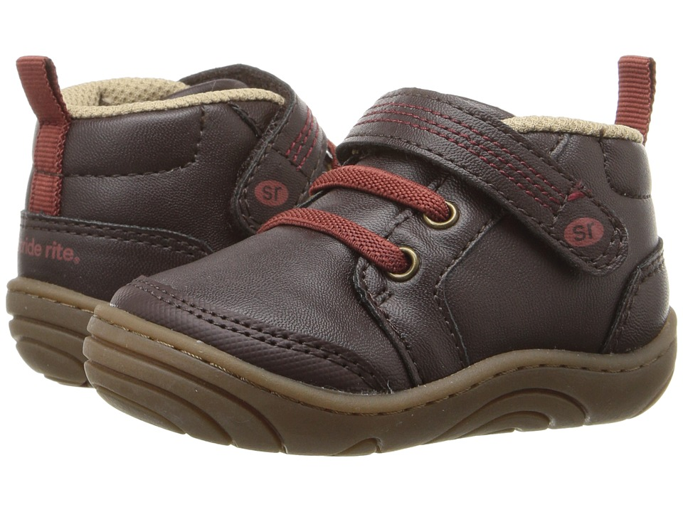 Stride Rite - Remington (Little Kid/Big Kid) (Brown Synthetic) Boy's Shoes