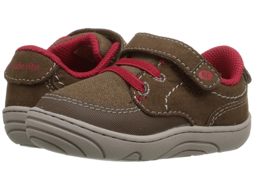 Stride Rite - Quincy (Little Kid/Big Kid) (Brown Textile) Boy's Shoes