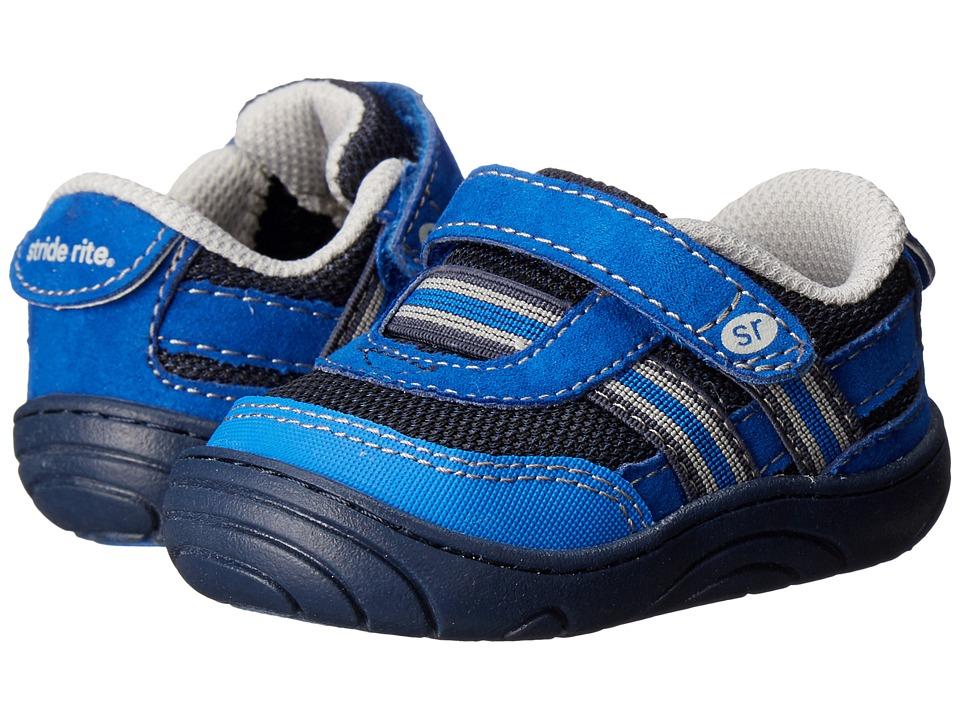 Stride Rite - Caden (Little Kid/Big Kid) (Navy Textile) Boy's Shoes