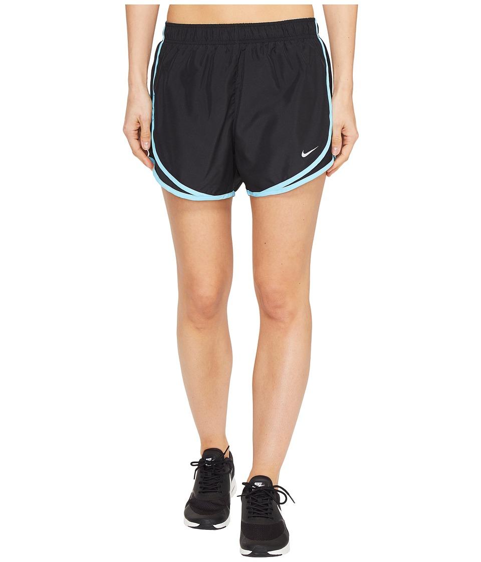 Nike - Dry Tempo Short (Black/Black/Vivid Sky/Wolf Grey) Women's Shorts
