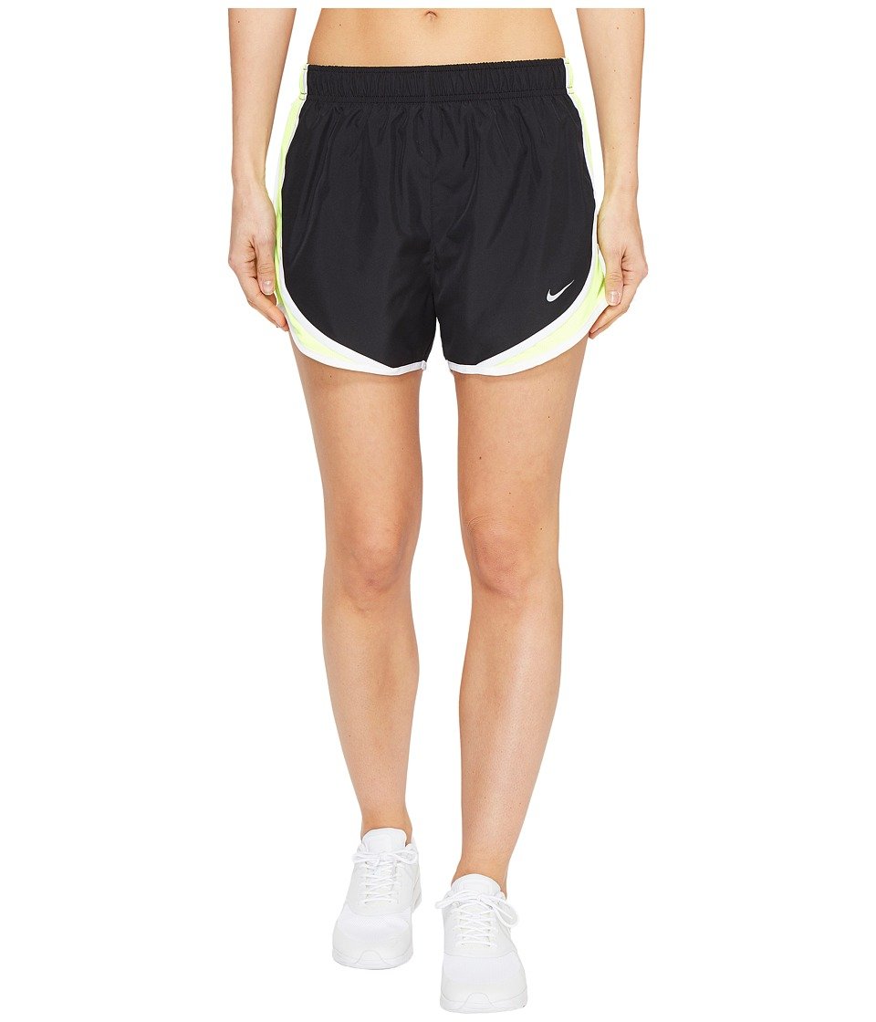 Nike - Dry Tempo Short (Black/Volt/White/Wolf Grey) Women's Shorts