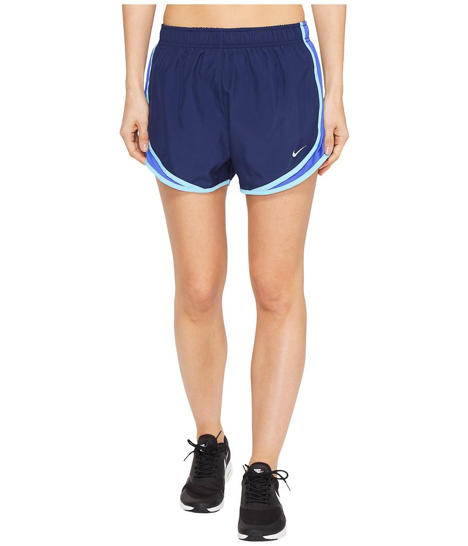 Nike - Dry Tempo Short (Binary Blue/Paramount Blue/Wolf Grey) Women's Shorts