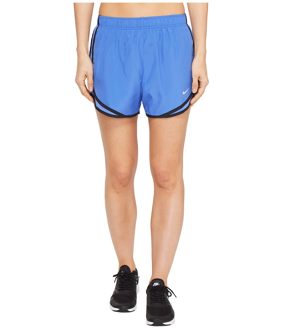 Nike - Dry Tempo Short (Comet Blue/Comet Blue/Black/Wolf Grey) Women's Shorts