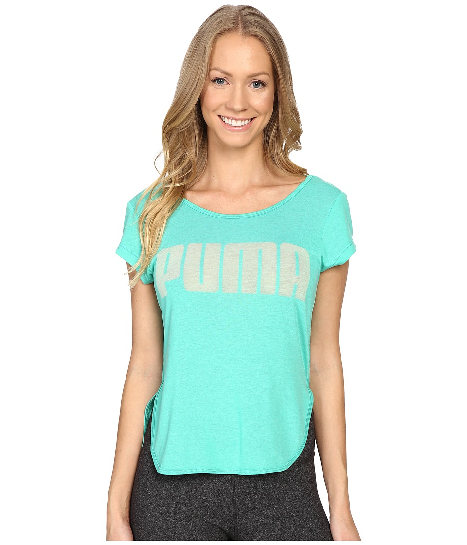 PUMA - Layer Tee (Mint Leaf) Women's T Shirt