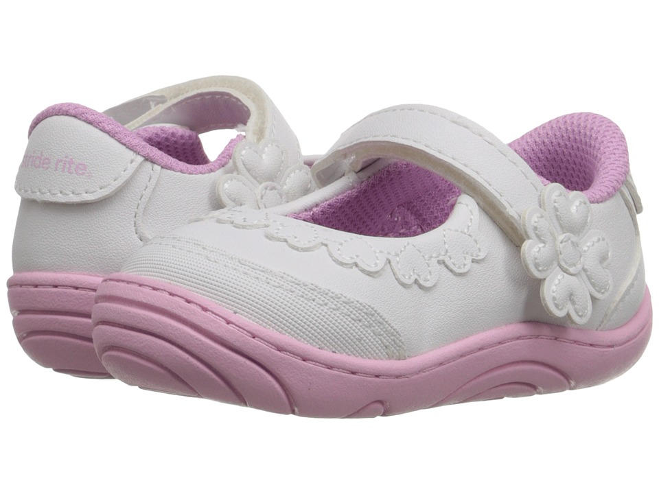 Stride Rite - Alda (Little Kid/Big Kid) (White Synthetic) Girl's Shoes