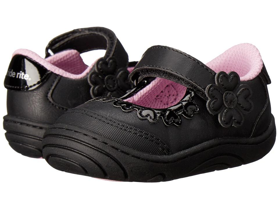 Stride Rite - Alda (Little Kid/Big Kid) (Black Synthetic) Girl's Shoes