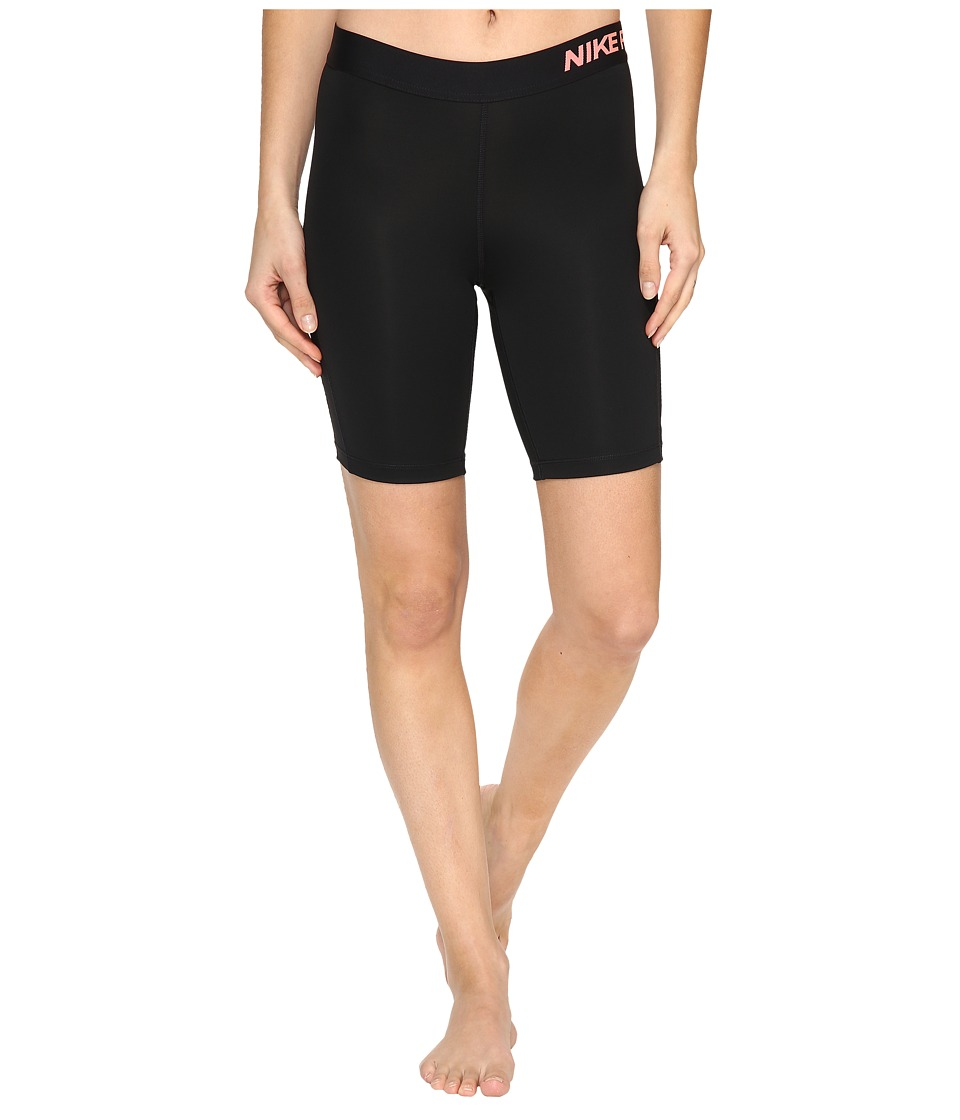 Nike - Pro 8 Short (Black/Lava Glow) Women's Shorts