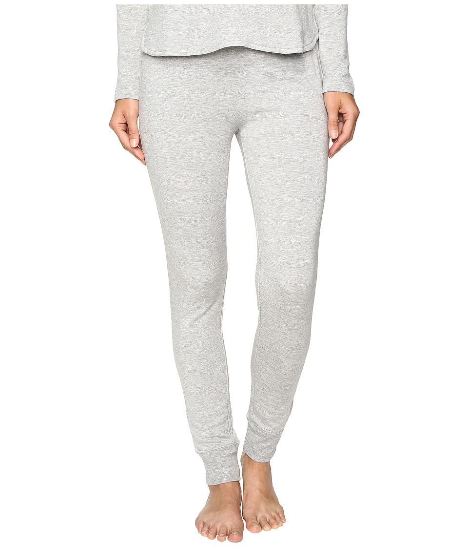 LAUREN Ralph Lauren - Lounge Jogger Pants (Heather Grey) Women's Pajama