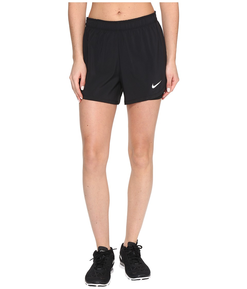 Nike - Flex 2-in-1 Training Short (Black/Black/White) Women's Shorts