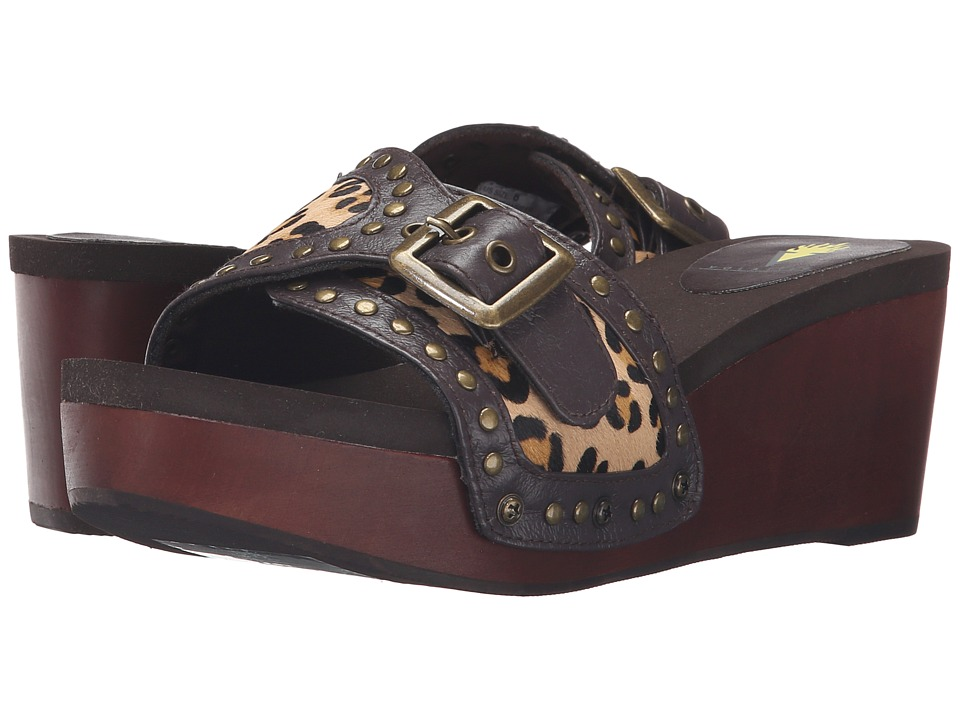 VOLATILE - Millan (Tan Leopard) Women's Shoes