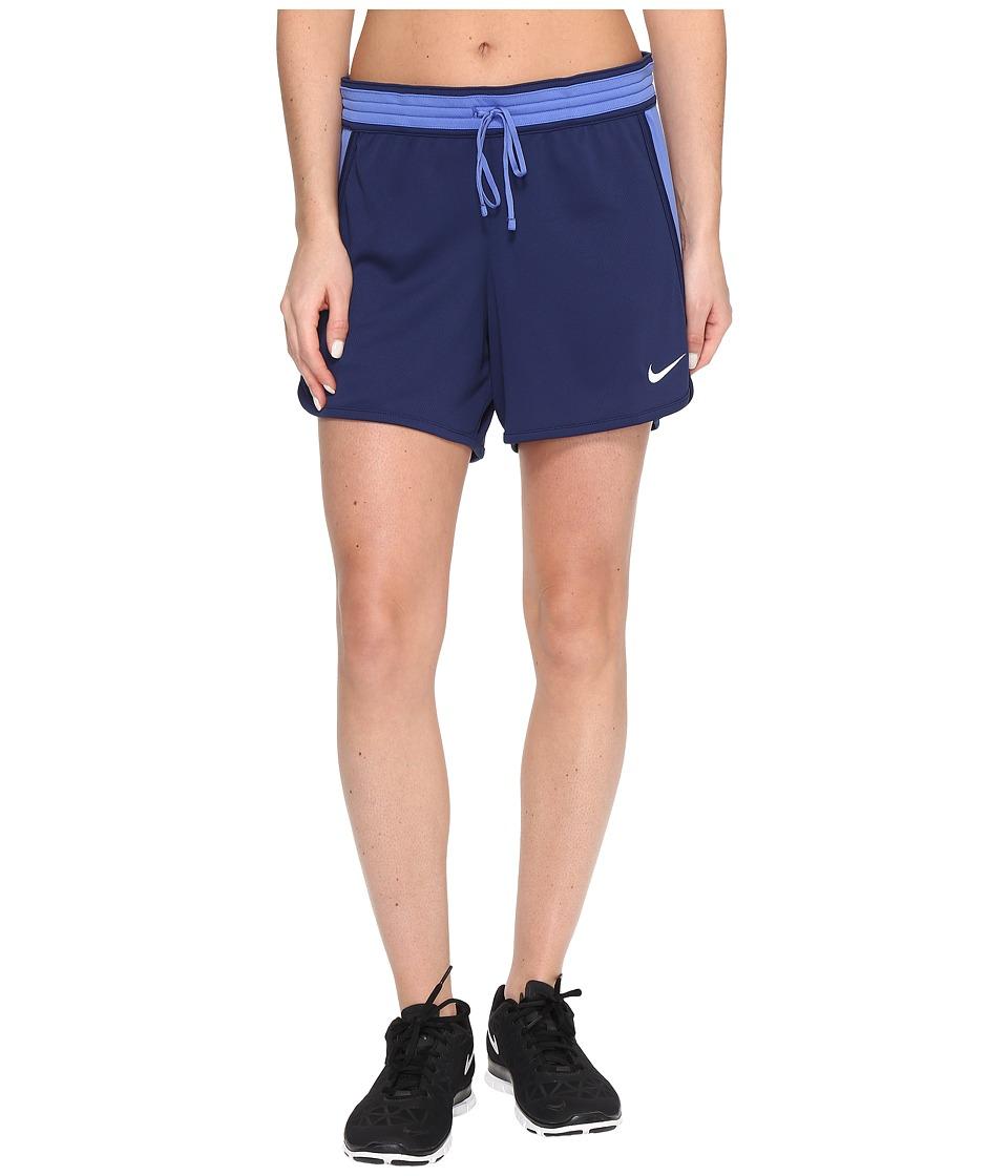 Nike - Dry Infiknit Short (Binary Blue/Comet Blue/Comet Blue/White) Women's Shorts