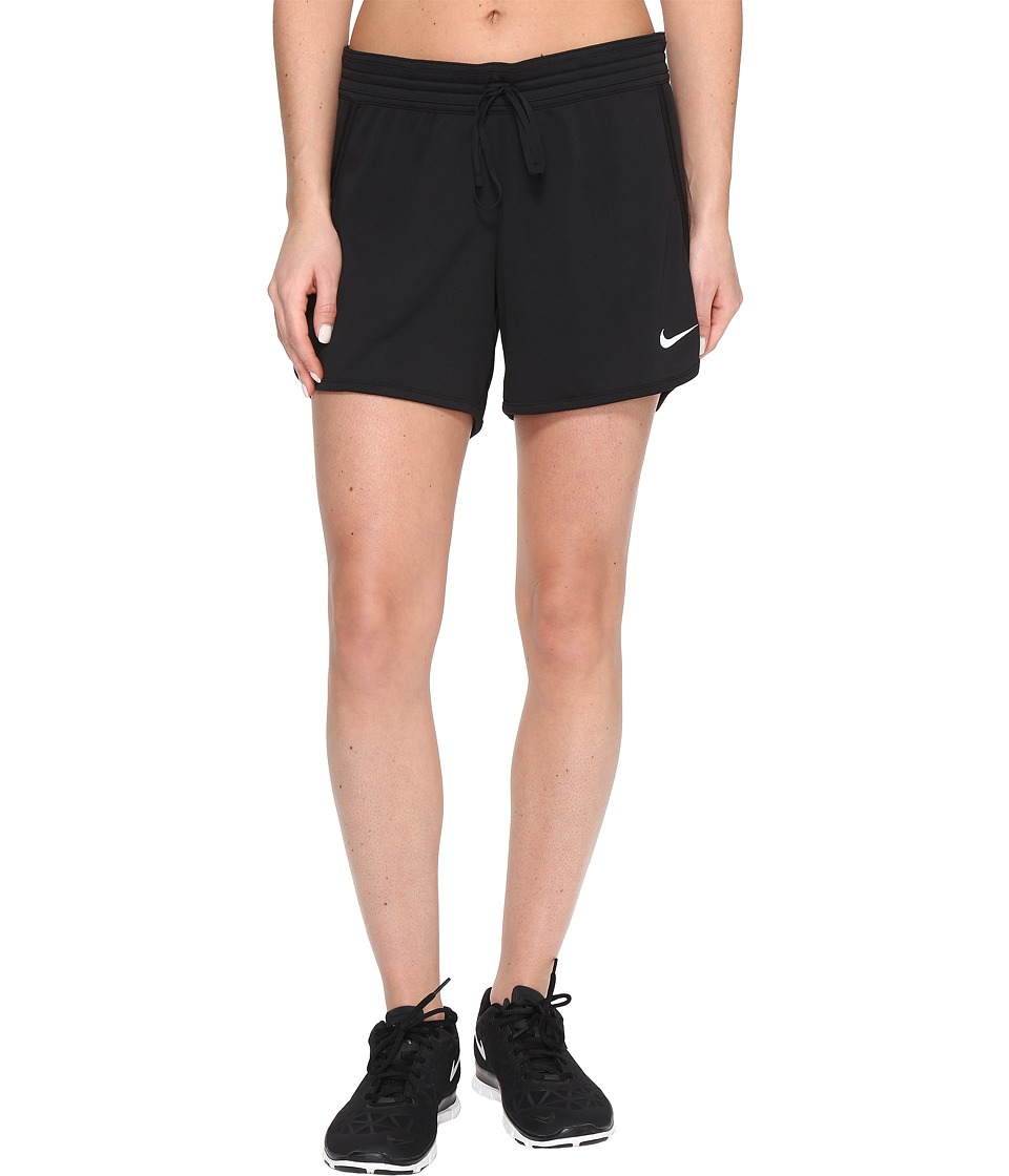 Nike - Dry Infiknit Short (Black/Black/Black/White) Women's Shorts