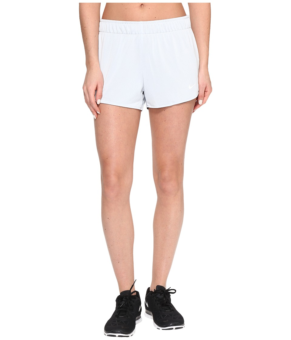 Nike Dry Jump Reversible Short (Pure Platinum/Dark Grey/White/White) Women