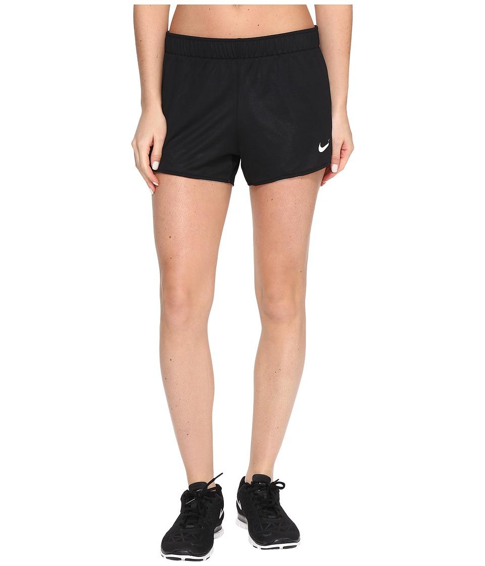 Nike - Dry Jump Reversible Short (Black/White/Black/White) Women's Shorts